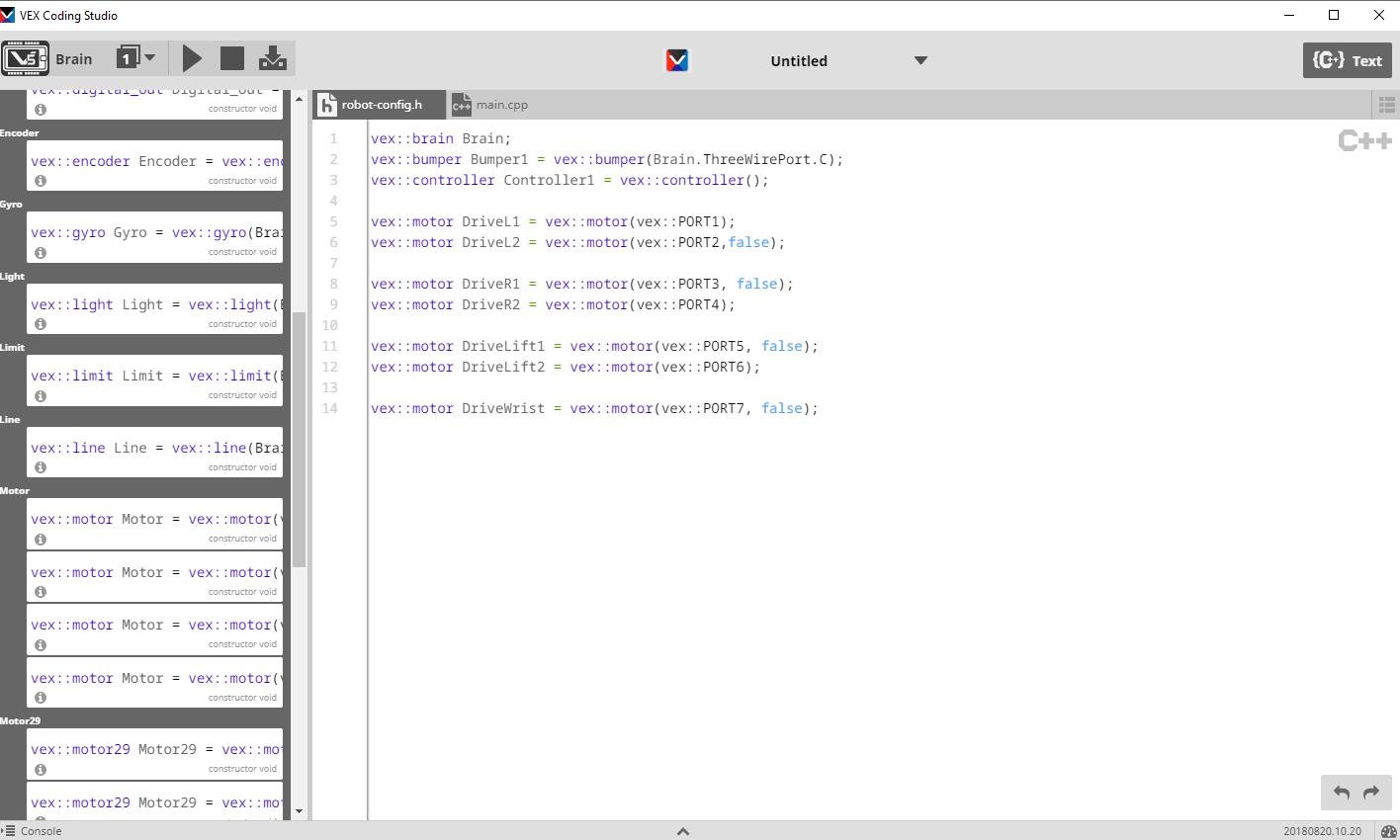 Programming Software Comparison - 7842 Navigators
