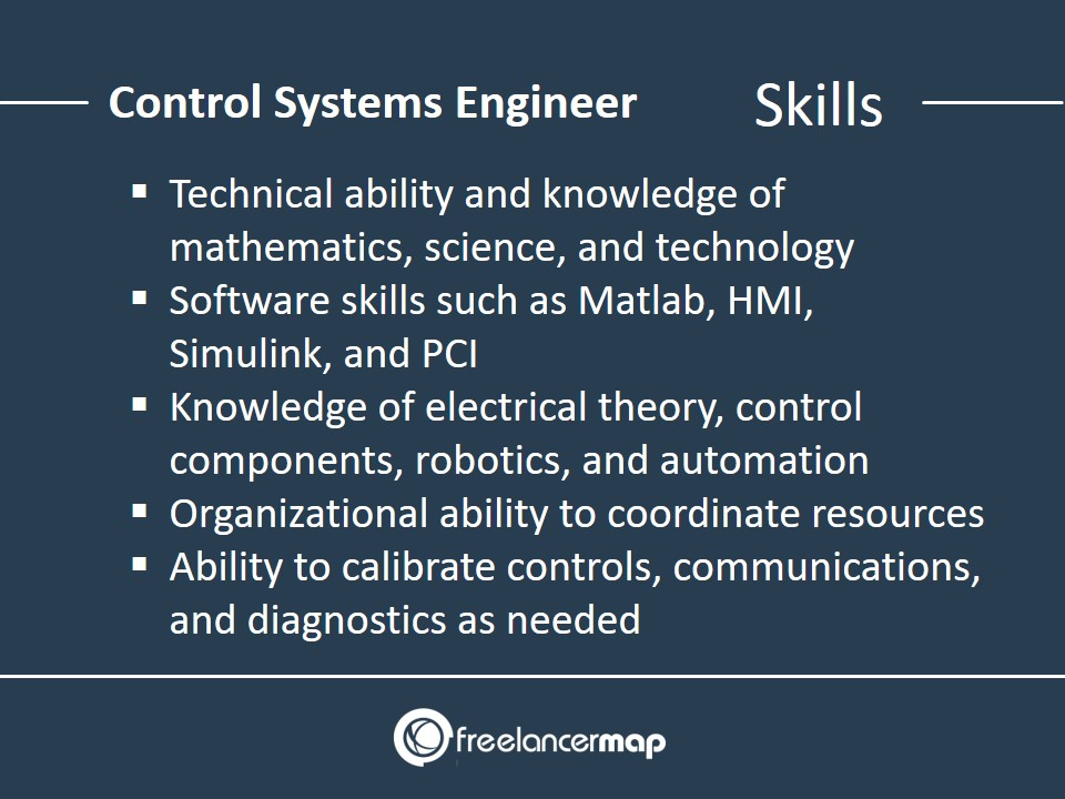 Skills Required for a Control Systems Engineer