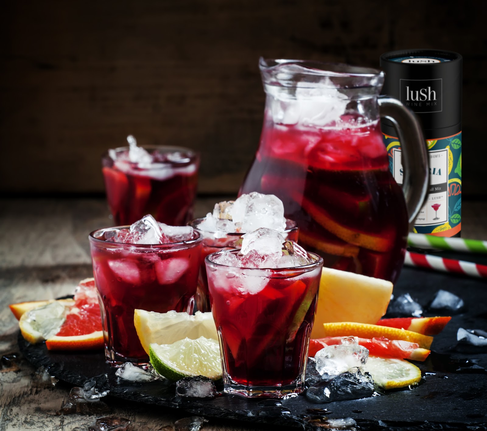 Lush Wine Mix sangria