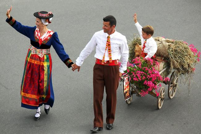 Parade in Nendaz