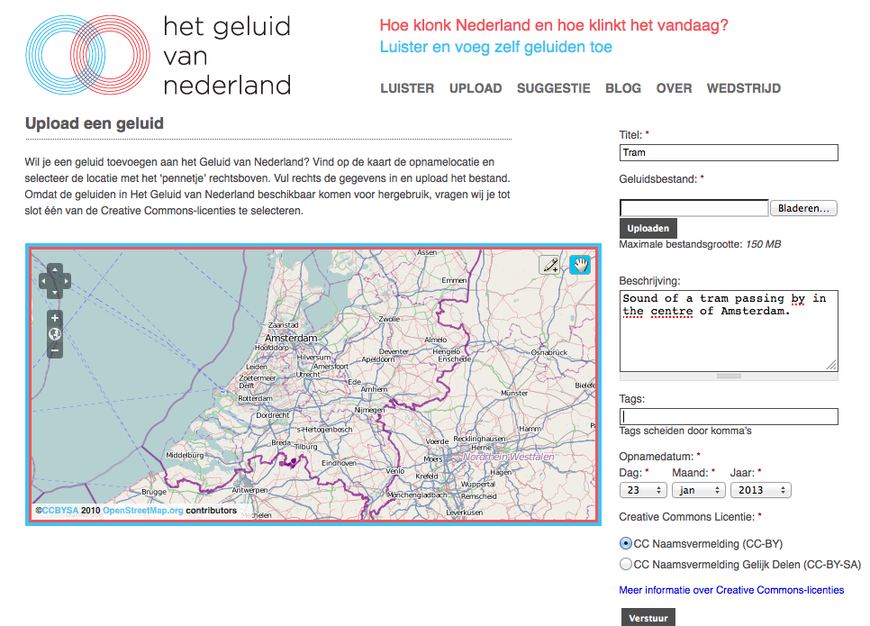 Sound of the Netherlands: Crowdsourcing the Dutch Soundscape