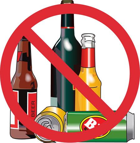 Không sử dụng bia rượu