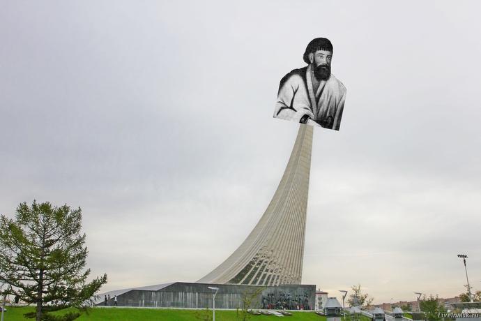 Емельян Пугавеч улетает на орбиту