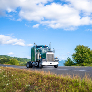 Trucker using truck for IRS Form 2290 first use month.