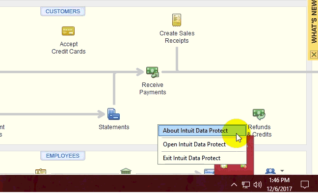 Update Intuit Data Protect