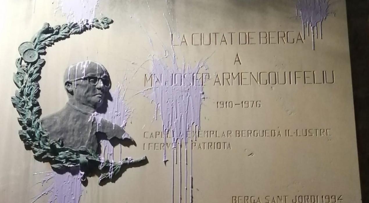 La vigília del 8-M a Berga assenyala l'Església