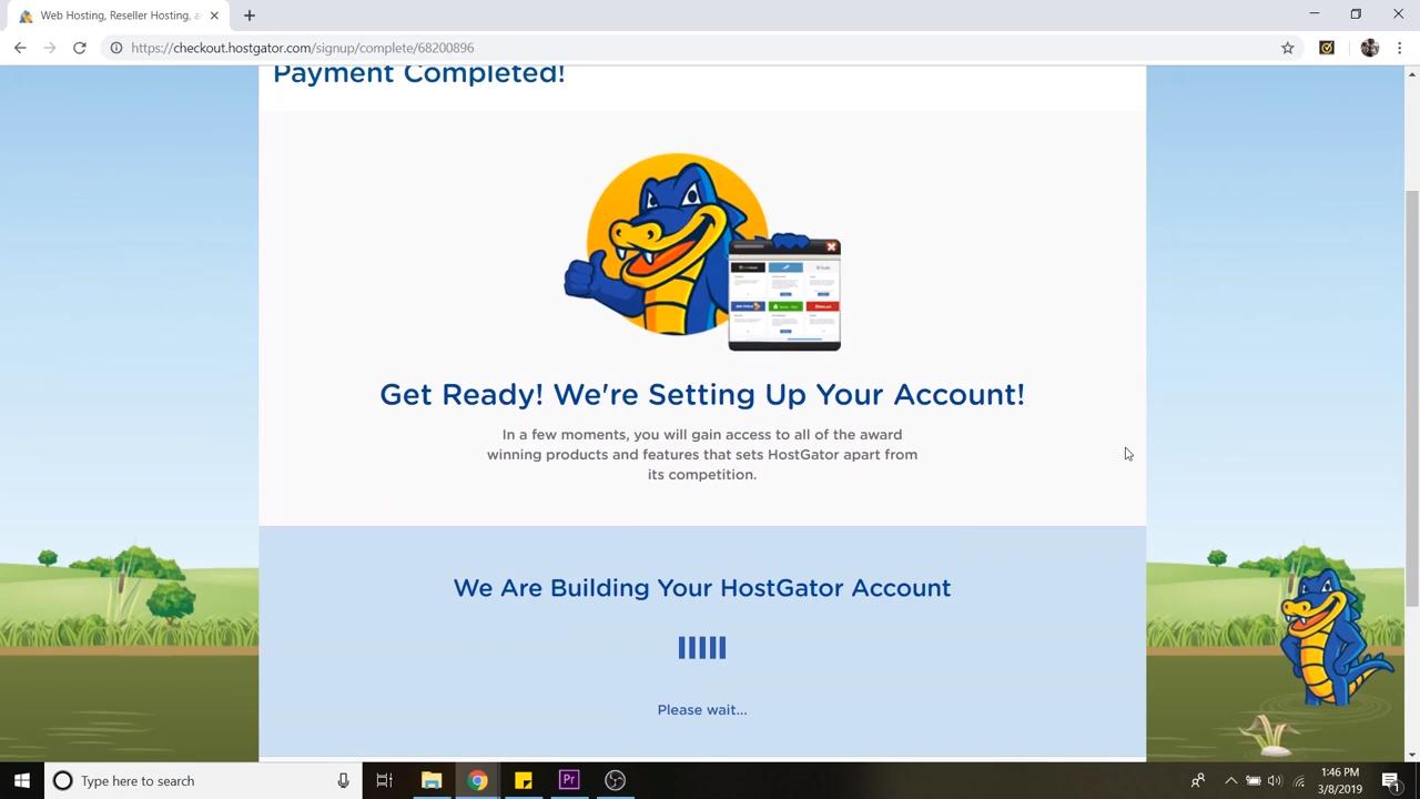 wordpress tutorial for beginners setting up account