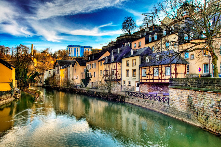 Luxembourg là một trong những quốc gia nói tiếng Đức