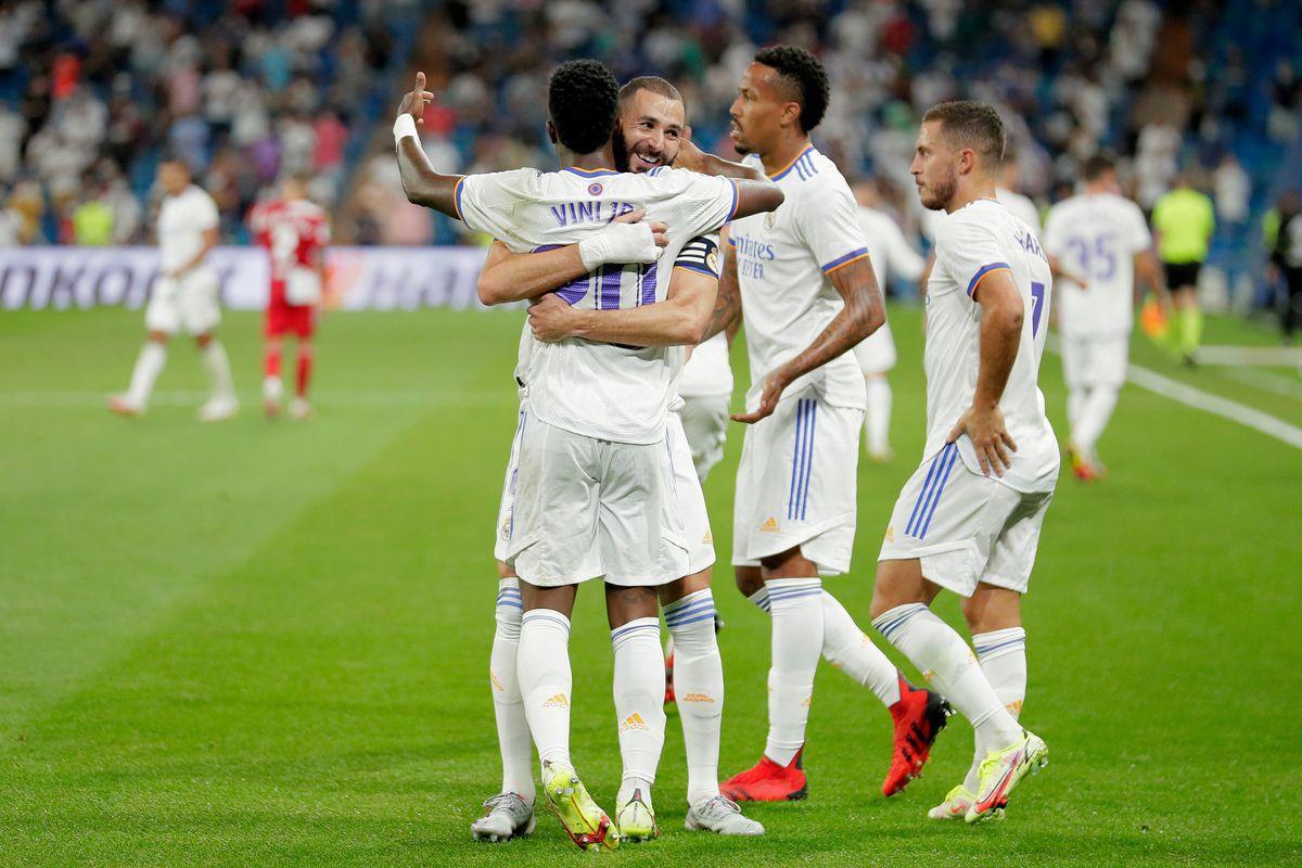 Hàng công của Real Madrid đang làm việc rất tốt