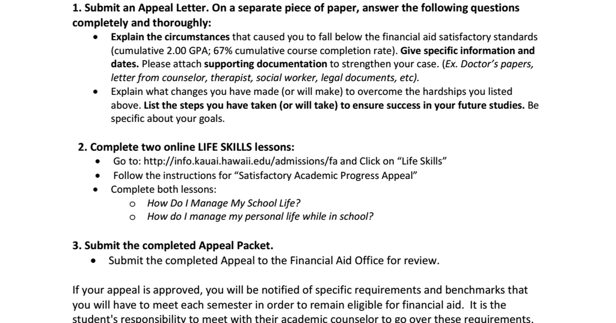 sap appeal Note: the deadline for submitting sap appeals to be reviewed for summer semester 2018 is may 15, 2018 appeals received after may.