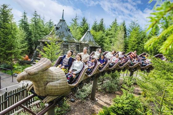 Image result for universal studio jepang hippogriff