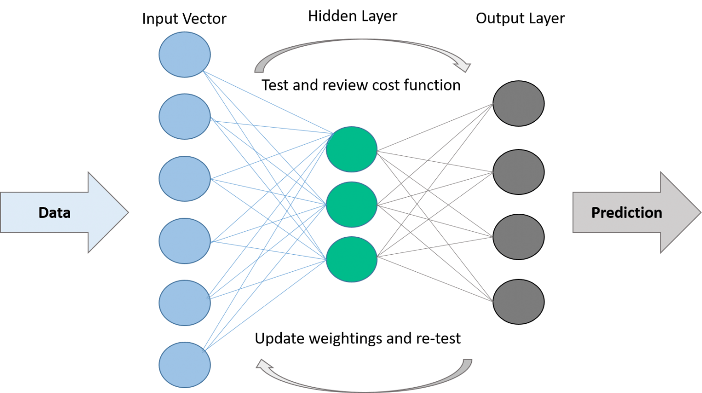 artificial neural network structure