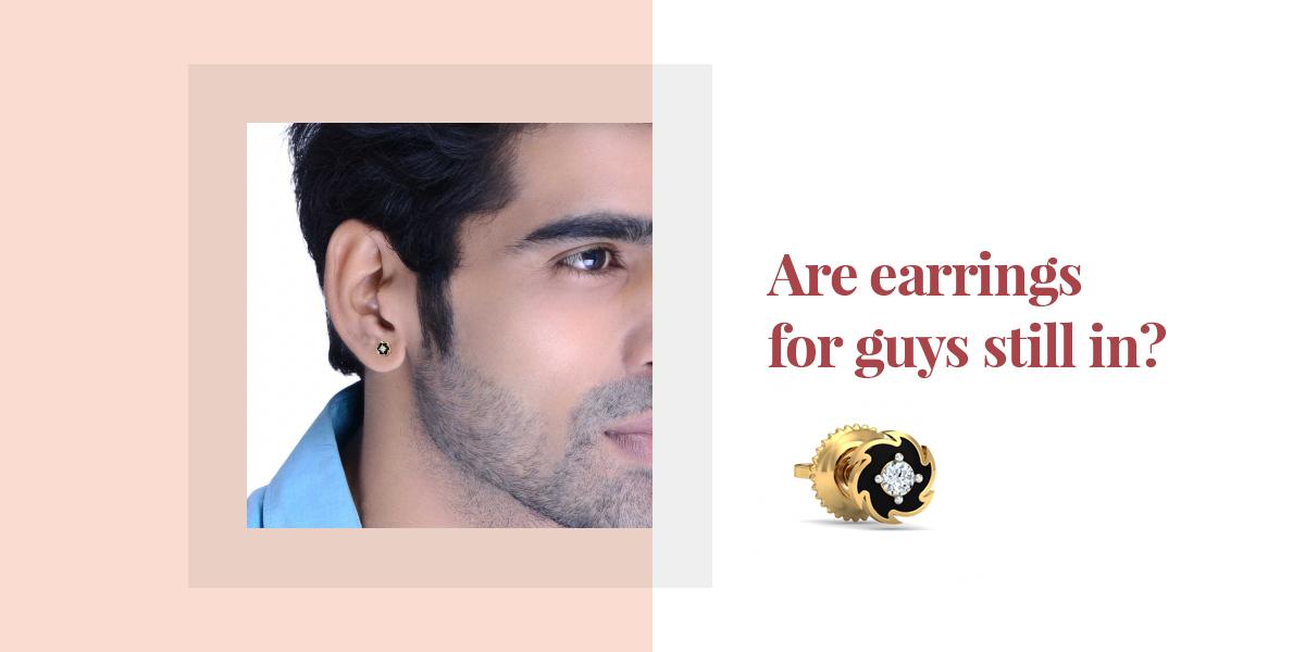 mens earrings designs - KuberBox