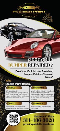Premier Mobile Auto Paint And Bumper Repair Mobile Auto
