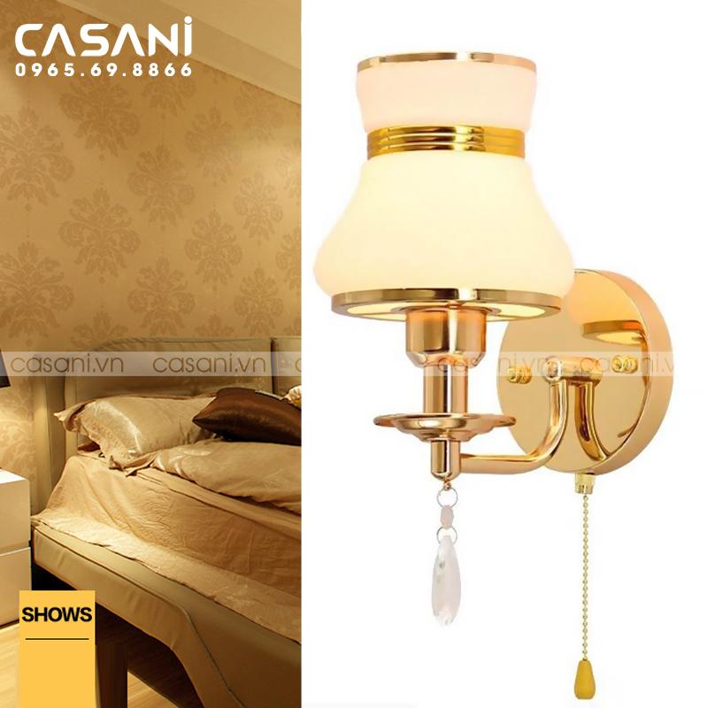 Những ưu điểm của đèn treo tường phòng ngủ mà bạn cần biết