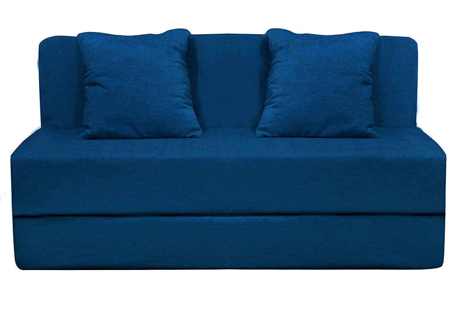Aart Store Sofa Cum Bed Furniture with 2 Cushion