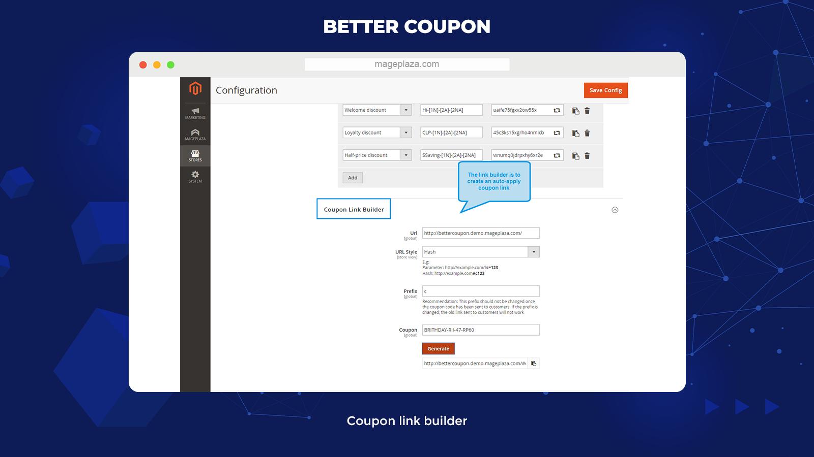 best Magento coupon code generator extension