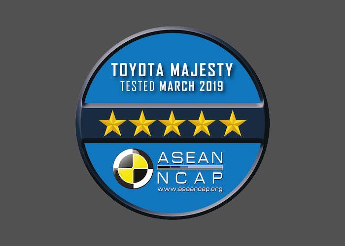 ASEAN NCAP เกณฑ์การประเมินผลแบบใหม่สำหรับปี พ.ศ. 2560 – 2563 เมื่อวันที่ 2 กันยายน 2562