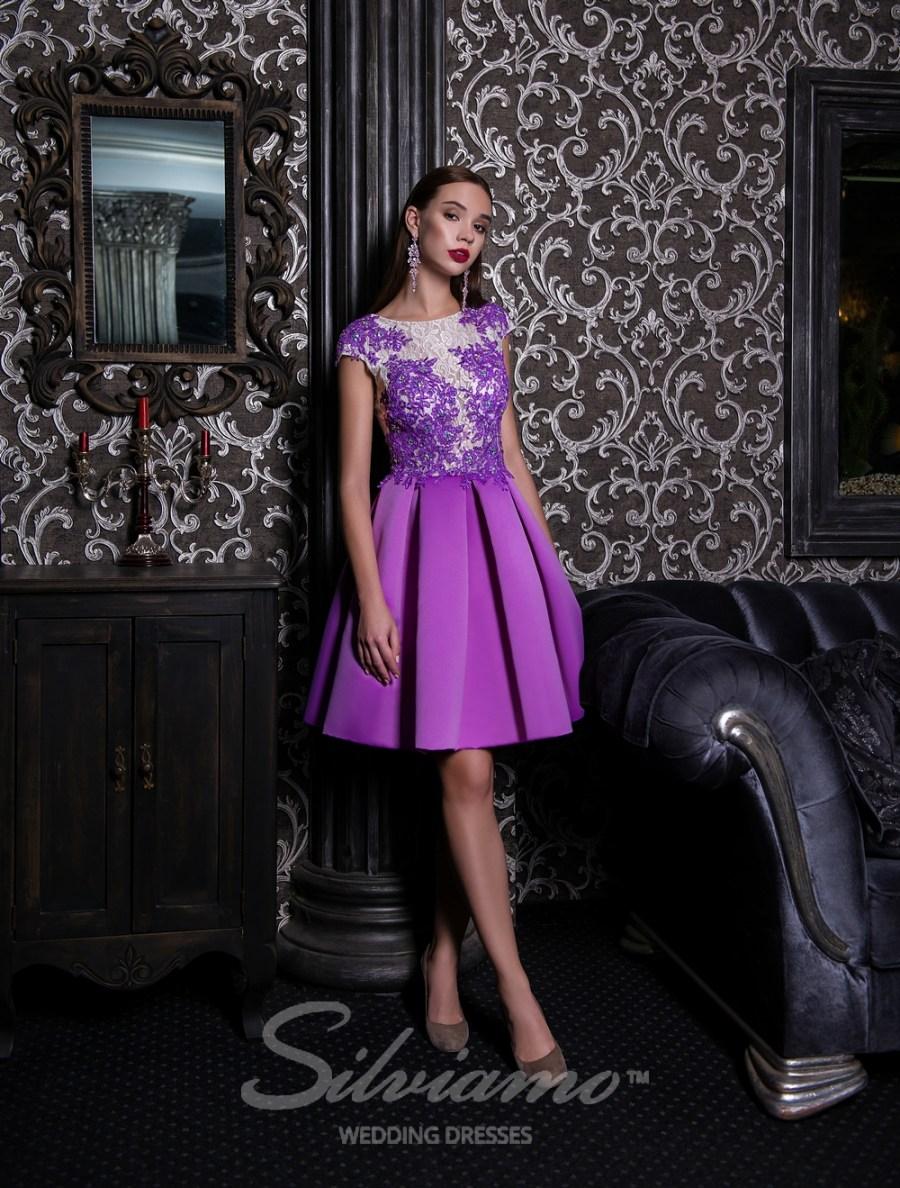 Короткое вечернее платье фото