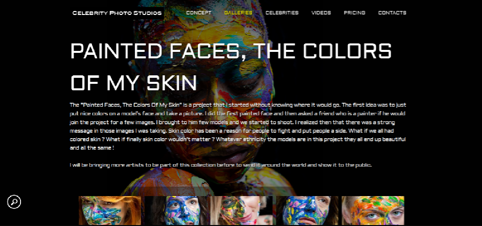 Painted Faces, The Colors of my Skin