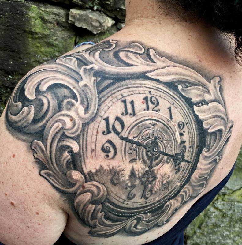 50 ลายสักนาฬิกา เท่ห์ๆ แนว