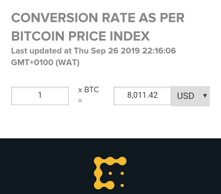 Trybe Bitcoin To Usd Converters And