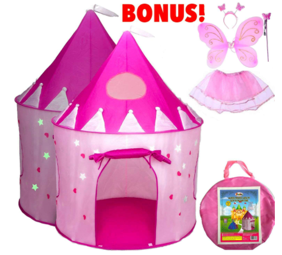 4. Playz Princess Castle Play Tent