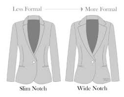 types of lapels