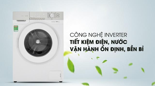 Máy giặt cửa trước Electrolux Inverter 9 kg EWF12933