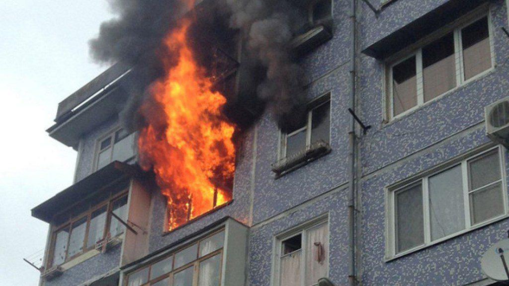 Что делать, если начался пожар в квартире