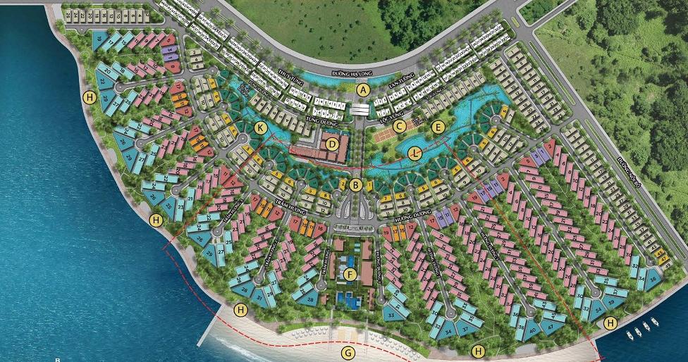 Dự án Sun Grand City Feria Hạ Long được xem là một tuyệt tác của kiến trúc