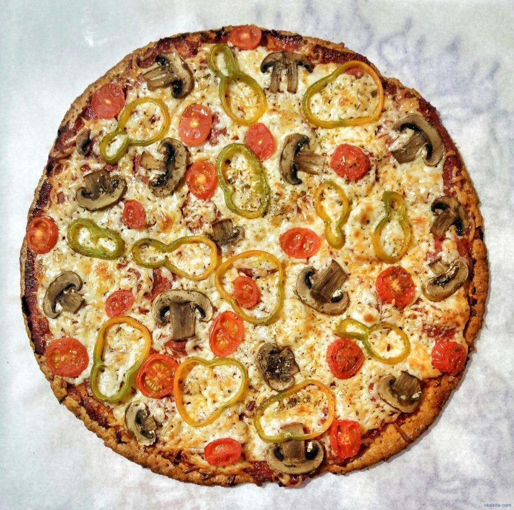 diyet pizza 1024x1017 - Diyet Pizza Tarifi