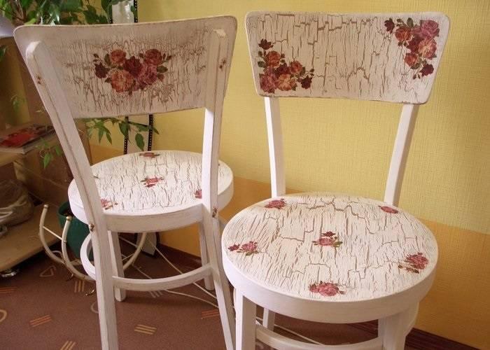 Декорирование стульев