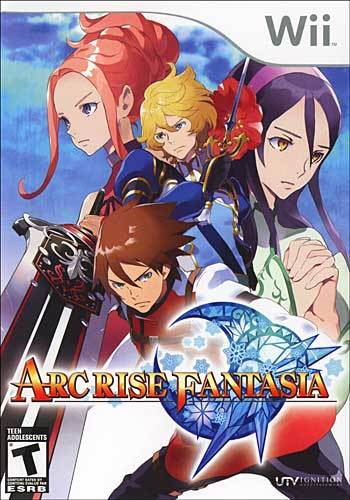 Image result for arc rise fantasia wii