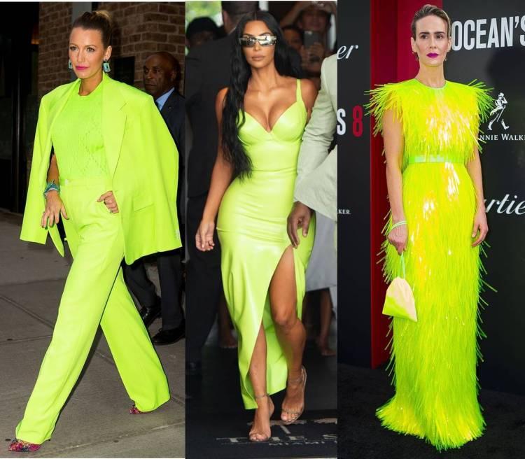 Image result for neon celebrities