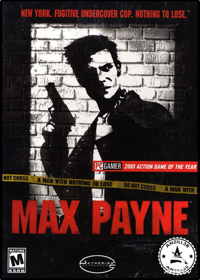 Max Payne cover pc