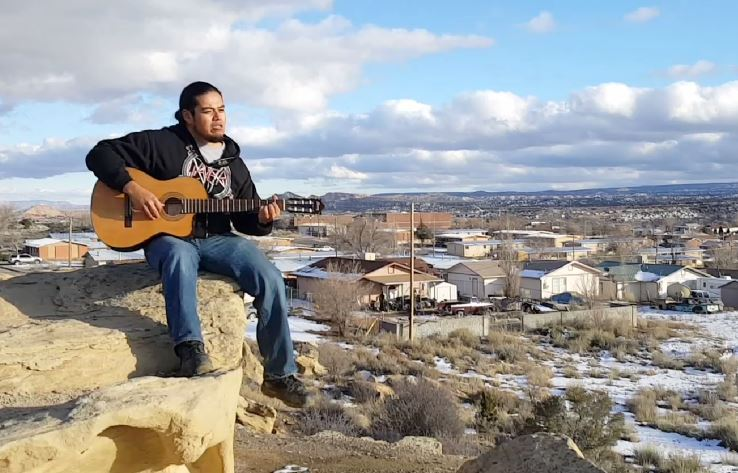 Native Actor and Musician Loren Anthony - Courtesy