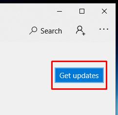 Windows 10, Get Updates