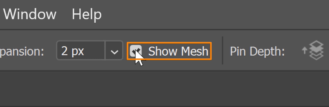 Uncheck the Show Mesh box