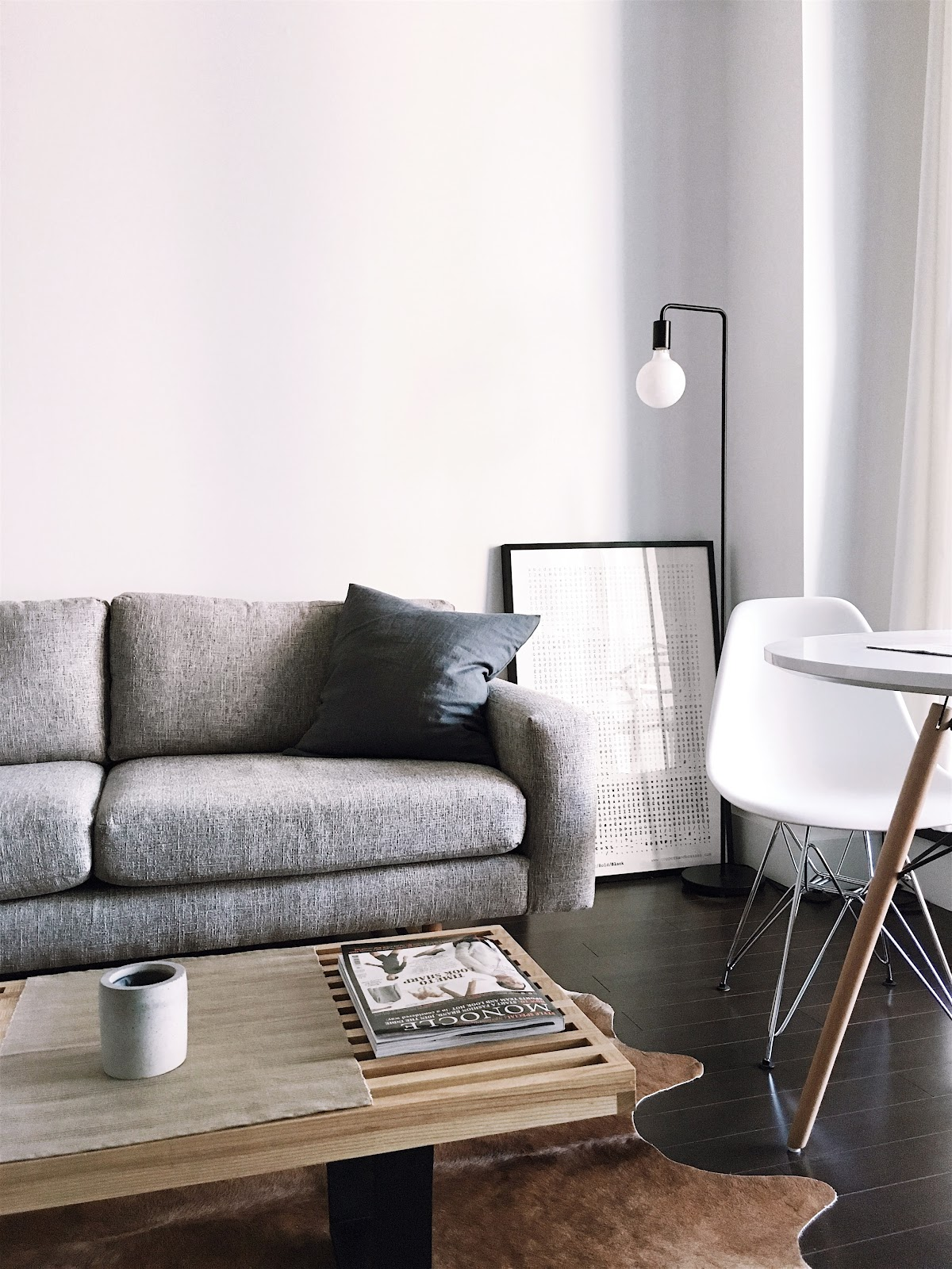 Desain scandinavian yang minimalis - source: unsplash.com
