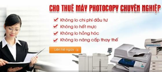 Dịch vụ cho thuê máy photocopy chuyên nghiệp và uy tín