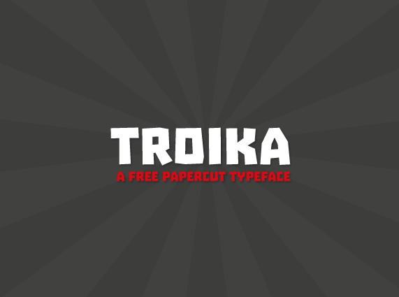 Troika Free Fonts