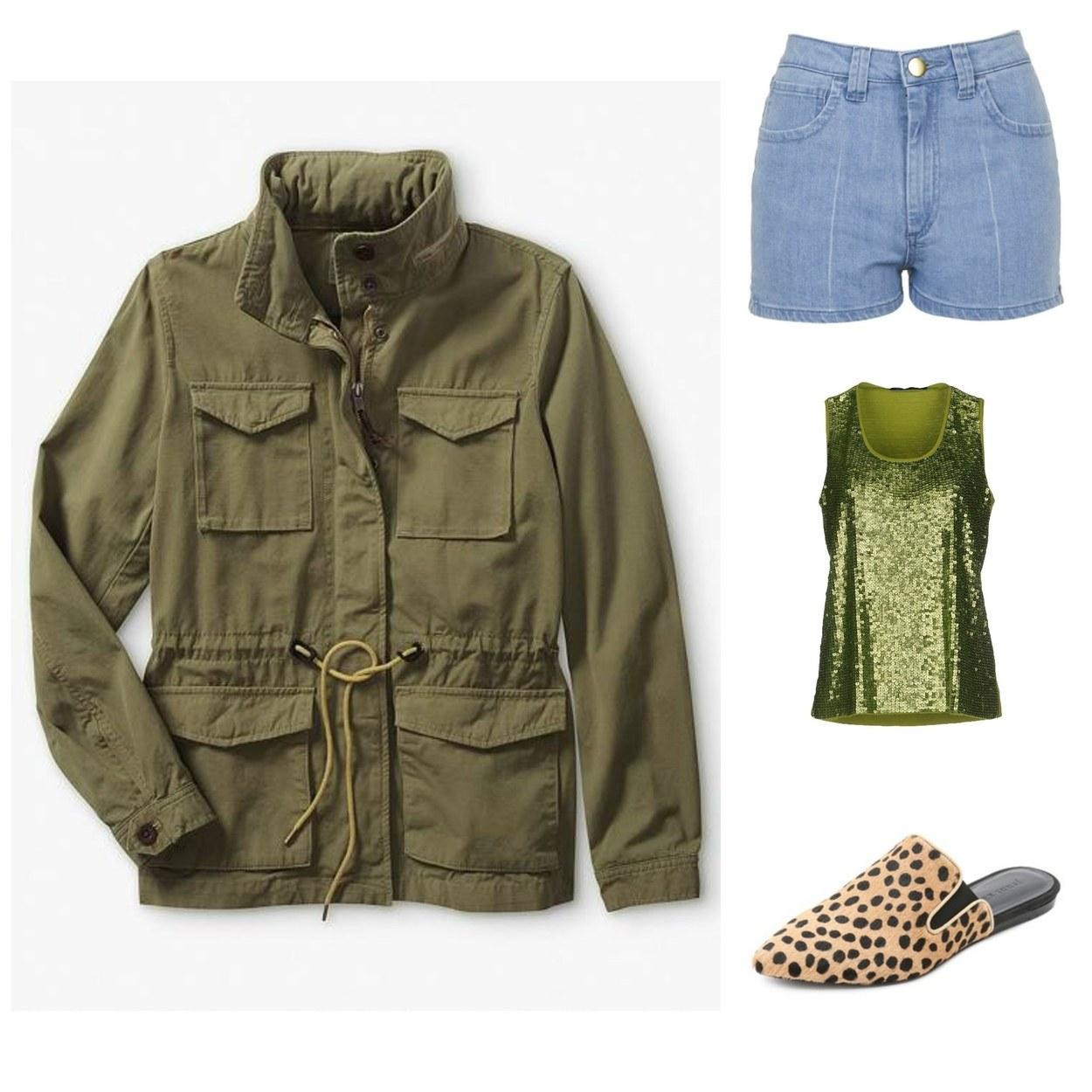 5 maneiras novas de usar shorts jeans 08