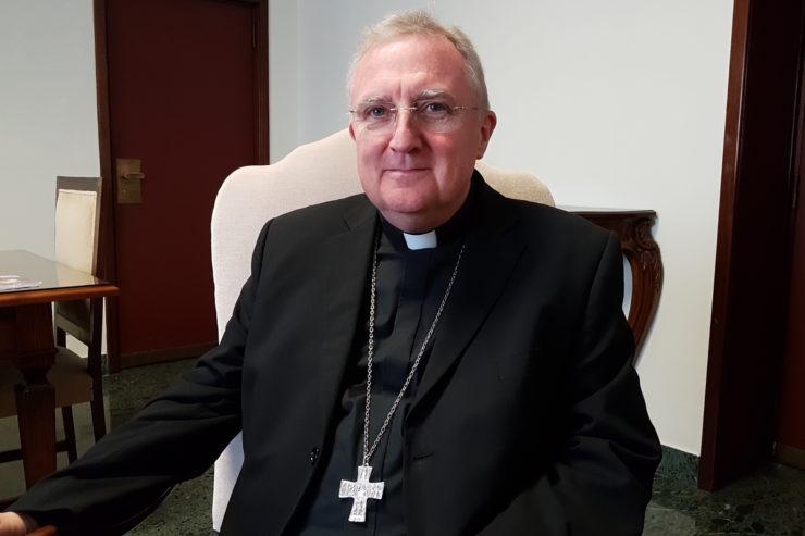 PHỎNG VẤN: Đức Tổng Giám mục Roche: Giờ kinh chiều của Anh giáo trong Vương Cung Thánh Đường Thánh Phê-rô là một bước đi khác của việc 'Đồng Hành'