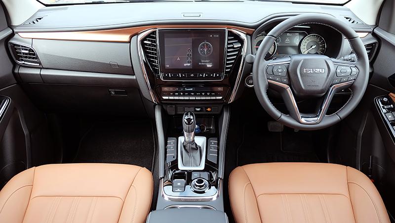 ดีไซน์ภายในรถยนต์ : All New Isuzu Mu-X