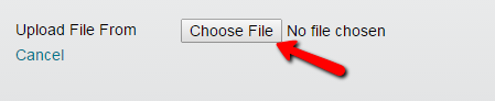 Qwickly Choose File