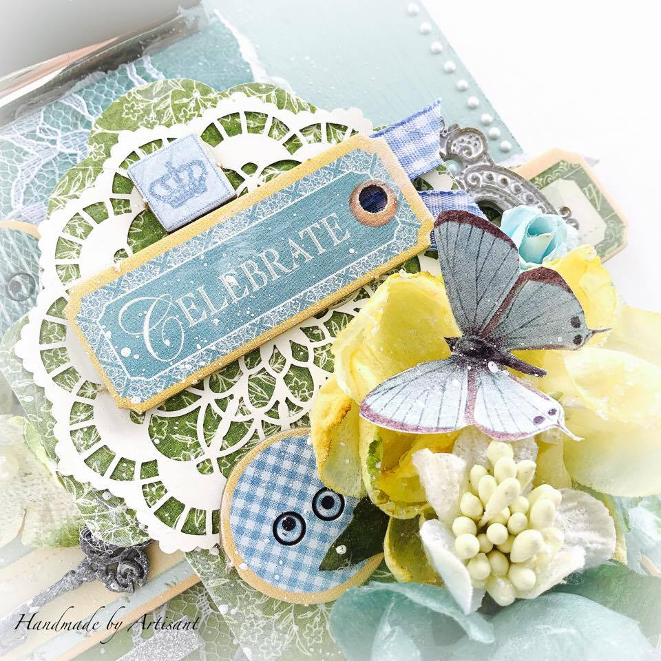 Once Upon a Springtime and Café Parisian altered note pad for G45, by Aneta Matuszewska photo 4.jpg