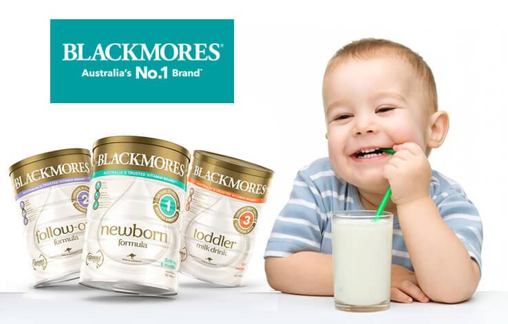 Sữa Blackmores Úc - Dòng sữa tăng cân cho trẻ 1 tuổi trở lên