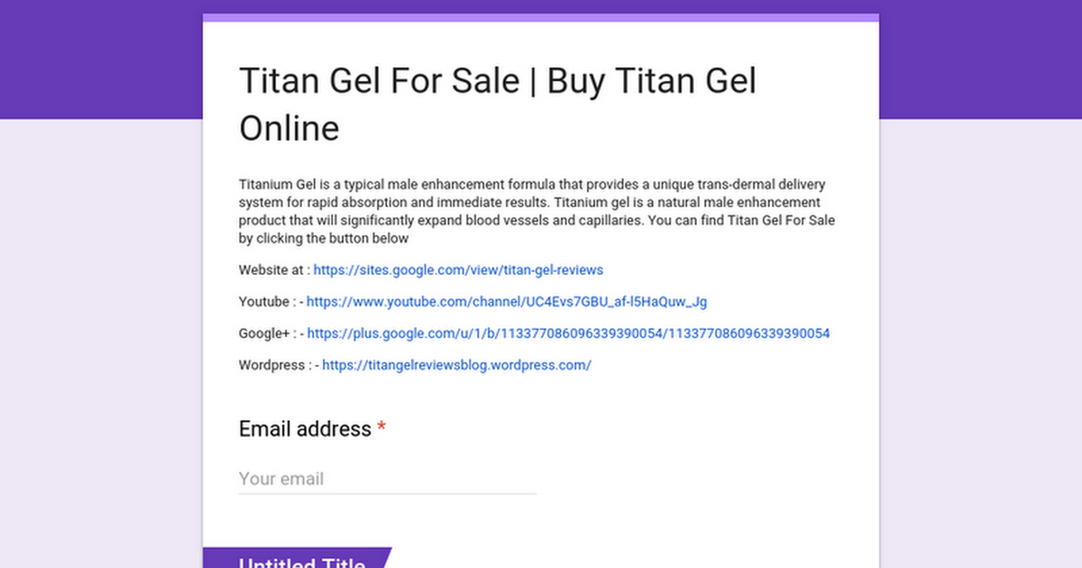 titan gel for sale buy titan gel online