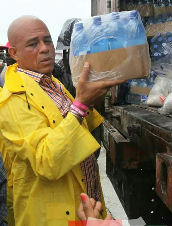 MICHEL MARTELLY IN IMMEDIATE ACTION AS HURRICANE MATTHEW HITS HIS PEOPLE